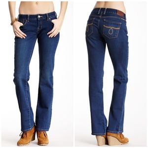 Lucky Brand Dungarees 'Lola' Bootcut Jeans 00 / 24